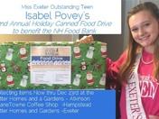 Hampstead Teen holds second annual food drive