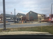 Manheim Public Library possible gas leak/fire evacuation
