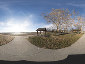 Big Creek State Park Beach.  360 panorama.