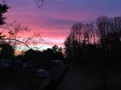 Beautiful sunrise in Tobaccoville