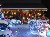 Bussiere/Wade Christmas House in Wentworth NH.