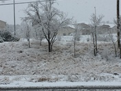 Snowfall in Silver City NM