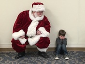 Santa and Kiernan