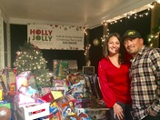 Local couple host annual toy drive