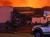 Plaza Lanes 3 alarm fire, 12-18-2017