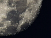 Moon over Simpsonville