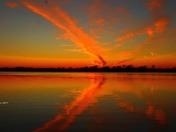 reflections in Lake Manawa