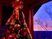 Paris Mt. sunrise at Christmas time