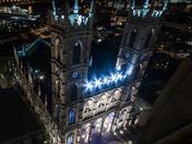Notre-Dame Basilica form above