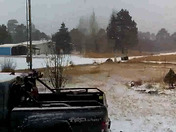 Snow in Chama 12:35 today