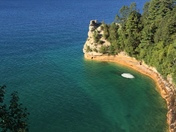 Pictured Rocks National Lakeshare