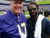 """Me and the Ravens """"Ball Hawk""""..#20, Ed Reed!"""