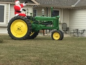 Santa in Baldwin City
