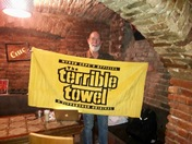 Terrible Towel in Romania