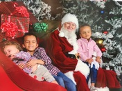 Santa and the Rhodes Brothers