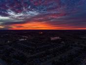 Sunrise Christmas Morning in Moore Ok