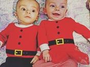 Berkley & Elsie's 1st Christmas
