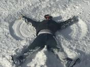 Fun in the snow in Hampstead
