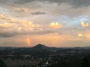 Rainbow at Butte Mountain...
