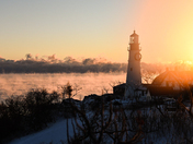 Sunrise at Fort Williams