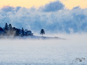 Rising Sea Smoke