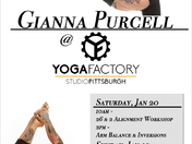 Champion Gianna Purcell Visits Yoga Factory Pittsburgh!