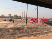 Amtrak train hits man on tracks near Madera station.