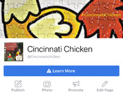 The Cincinnati Chicken is running loose feeding pantry's