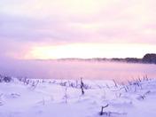Sebago Lake Sea Smoke
