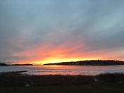 Sunset in Pocasset