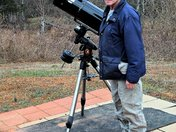 """My New Orion 8"""" f/3.9 Newtonian Astrograph Reflector Telescope"""