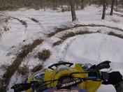 Paraplegic enjoys a snow day!
