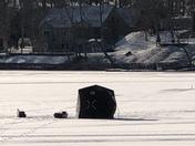 Ice Fishing in Pembroke Ma