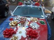 My christmas, car