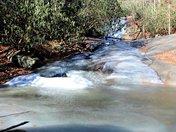 At Widows Creek Falls Stone Mt. State Park