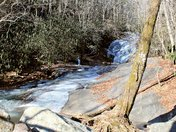 At Widows Creek Falls Stone Mt. State Park To Day