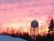 sunset in Carroll IA
