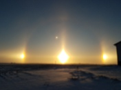 Sundogs from Collins Iowa!