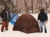One of many Winter Camping Trip I been On