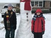 7 foot tall snowman
