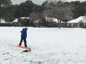Snowboarding on Hilton Head Island!