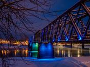 Historic Fraser River Bridge
