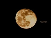 Super Moon, January 3, 2018