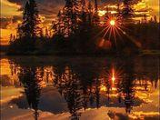 Seymour arm sunset