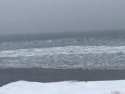 High tide at Higgins beach