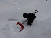 Jude Leon Shovels Snow!