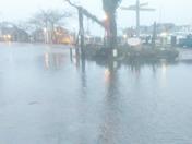 Straight wharf.