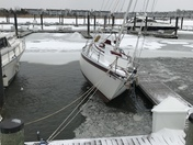 This is Wells Cove Marina on Kent Island