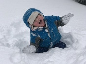 Bombcyclone has nothing on this 3 year old!