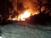 4th Alarm Fire Knotty Pines Antiques